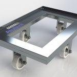 <b>Roller de Alumínio 600 x 400mm para 250 kg.</b>